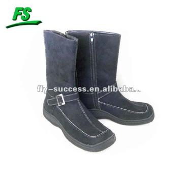 женщина зима теплый высоты верхнего ботинок
