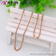 Xuping Moda Oro Rosa Color Neutral Collar (42520)