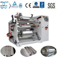Máquina de rebobinamento da folha de alumínio da alta qualidade