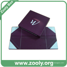 Foldable Bottom Box with Lid / Printed Paper Folding Gift Box