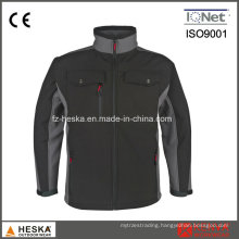 Wholesale Waterproof Mens Woven Workwear Softshell Jacket