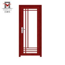 2018 melhor preço de alumínio porta interior do banheiro porta para venda
