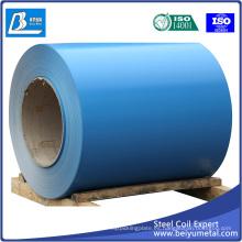 Hoja de acero galvanizado revestido de color de bobina de acero PPGI