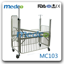 MC103 Hospital equipment baby nursing bed pediatric bed for sale