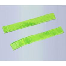 LED PVC reflektierende Schlag Wrap elastische reflektierende Klettverschluss Armbinde Leuchten im Dunkeln
