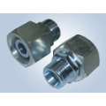 Metric Thread Bite Type Tube Fittings Replace Parker Fittings and Eaton Fittings (REDUCER TUBE ADAPTOR WITH SWIVEL NUT)