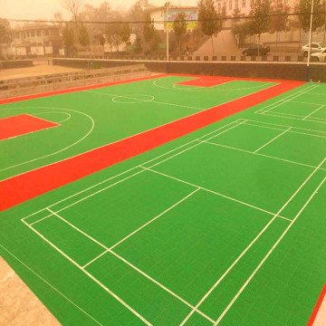 Modular polypropyleneTennis Court Tiles