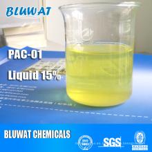 Cloruro de aluminio de polietileno líquido (PAC líquido)