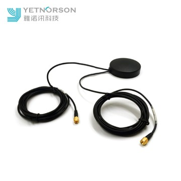 High Gain Active WiFi Dual Band GPS Antenna for Car Truck SMA or Fakra Connector