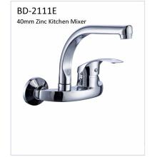 Bd2111e Faucet de cozinha de zinco de alavanca de 40mm