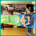 New promotion display fabric banner wall with long life