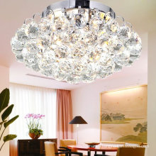 China Wholesale Silver Modern K9 Crystal Ball Chandelier Celing Lamp
