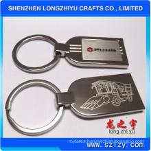 Metal Keyring with Logo Keychain for Car Keys