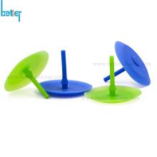 Válvula de retención de seta de paraguas de goma de silicona unidireccional