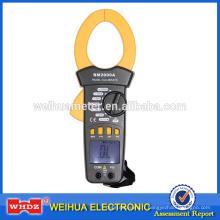 Pince ampèremétrique numérique BM2000A avec Continuous Buzzer Retenue de données Rétro-éclairage Courant Courant AC 2000A