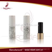 LI21-6 Gold fornecedor China batom recipiente por atacado tubo de batom vazio recipiente