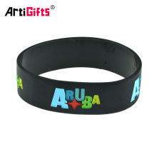Muñequera Maker Muestra gratuita Fancy Custom Silicone Wrist Band