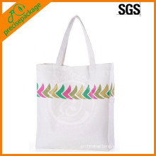 sturdy Reusable Customized Cotton Shopping handle Bag