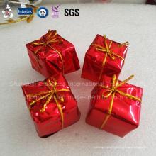 China Produce profissional personalizado decoração de bolo de Natal de plástico