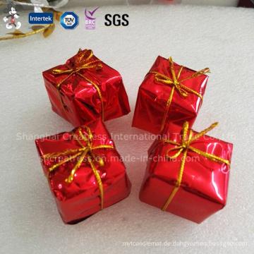 China Professionelles Erzeugnis personifizierte Plastikweihnachtskuchen-Dekoration