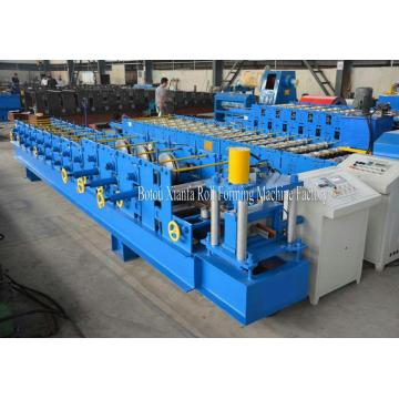 Baja berwarna C Purlin Roll Forming Machine