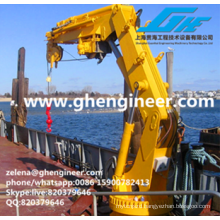 Handling and Lifting Equipment on Ship