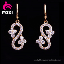 Unique Design Gold Plated Fancy Earrings for Party Girls