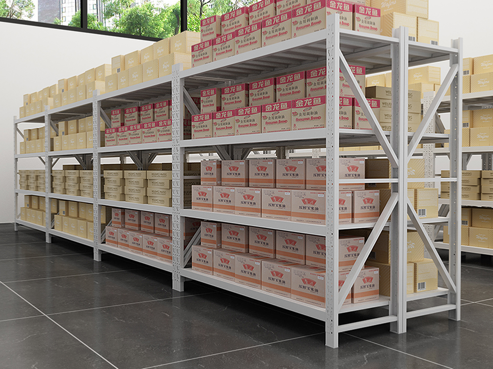 Popular Steel Warehouse Shelves