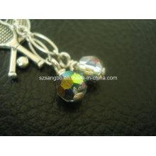 Стеклянный шарик цепь для подарок промотирования