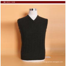 Yak laine / cachemire col v pull à manches longues pull / vêtement / vêtements / vêtement / tricots