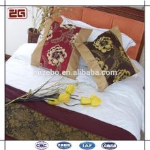 Custom Made Bordado Plain Sofa Almofada Coberturas Algodão