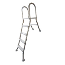 316 Stainless Steel above ground pool ladder with 4 Steps