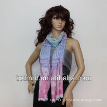 new design scarf for young girl HTC363-2
