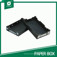 Caja de empaquetado de frutas / verduras de papel artesanal
