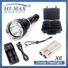La linterna llevada superventas del linterna del loto de la linterna de la linterna del linterna de la linterna del head1000 del lumen del HI-MAX