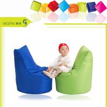 Chaise en coton pour bébé style populaire chaise en beanbag haut dossier
