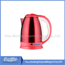 1.8 L Stainless Steel Electric Water Kettle Hotel Kettle Sf2001