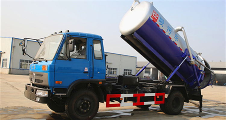 sewage suction truck (2)