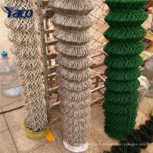 Wholesale clôture en acier enduit de tennis clôture de maillon de chaîne