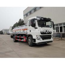 Sinotruk HOWO 4X2 conduire le camion de carburant pour 3-12 mètres cubes