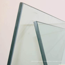 10mm polished  edge  tempered building glass price for shower door