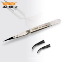 high hardness tweezers with adjustable tweezer tip  curved and pointed  tweezers