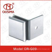 Alliage de zinc à un seul côté Garnissage de verre de 135 degrés utilisé dans le verre de fixation (CR-G09)