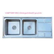 fregadero pulido máquina amatista cuarzo fregadero undermount blanco fregadero de la cocina