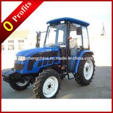 55HP Tractor De Rodas De Cultivo 4WD / Tractor Agrícola Dq554