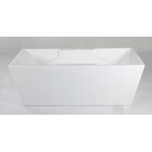 Quadratische Innen-Acryl-Badewanne