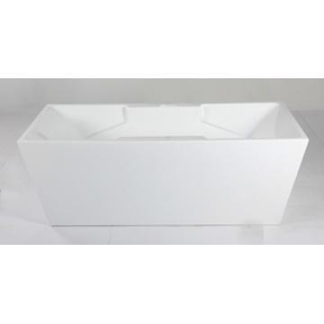 Baignoire carrée en acrylique intérieure