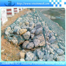 Electric Galvanized and PVC Coated Gabion Mesh