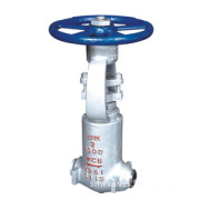 Resilient Seated and Cast Steel Flange Gate Valve