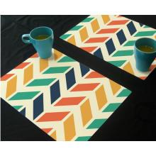 Nuevo diseño personalizado a todo color de impresión Placemat plástico colorido